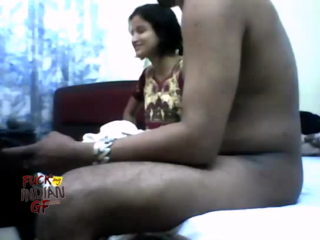 desi Indian college girl Sumi in hotel srvice