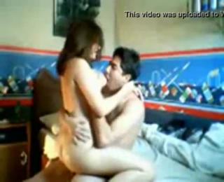 desi NRI couple LAP sex in bed