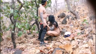 desi Hot desi bhabhi sex with bf in jungle