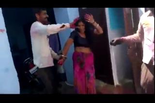 desi Indian bhabhi hot romance with Devar